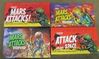 Mars Attacks Topps. 4 display boxes(no packs) Heritage alt Attack-Invasion-occup
