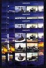 10x Transport Marine War Ships WARSHIPS - perf - Privat Local Issue PL38 not MNH