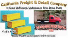 Milled Wood Lumber Stacks 3pcs N 1160 Scale Craftsman CAL Freight