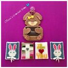 Giftcard holders plastic canvas yarn Easter multi colored money holders pocket