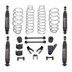 25 COIL SPRING LIFT KIT WITH SST3000 SHOCKS JEEP JK WRANGLER 4WD 07 18