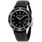 Raymond Weil Freelance Black Dial Silicone Strap Men's Watch 2760-TR1-20001