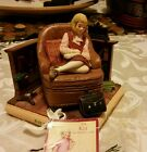"vintage 1934 kit ""an Amrican girl"" bookend hallmark"