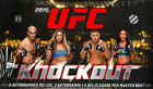 2015 Topps UFC Knockout Hobby Factory Sealed 8 Box Case