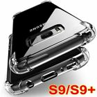 Shockproof 360° Silicone Protective Clear Case Cover For Samsung S9, S9+ Plus