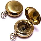 Vintage Antique Pocket Compass Marine Collectible Nautical Camping Hiking 2