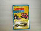 Matchbox Superfast No 52 Dodge Charger 1971 on Card Green