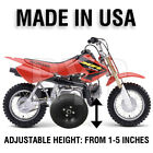 ADJUSTABLE - HONDA CRF50 CRF XR Z XR50 Z50 Z50R KIDS MOTORCYCLE TRAINING WHEELS