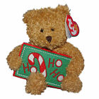 Ty Beanie Baby Ho Ho Ho - MWMT (Bear Greetings Collection 2006) Christmas