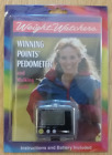 Weight Watchers swivel Pedometer steps miles and stopwatch UNOPENED
