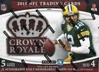 2015 Panini Crown Royale Football Hobby Box - Factory Sealed!