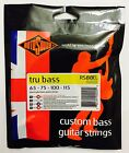 Rotosound RS88EL Tru Bass Guiatr Strings 65-115 Extra Long Scale Black Nylon