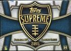 2015 Topps Supreme Football Hobby Box - Factory Sealed!