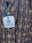TORI RICHARD Balboa Black Cotton Lawn Shirt USA NEW STORE INVENTORY 1264