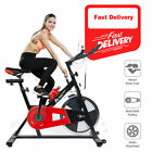 Exercise Spin Bike Fitness Cardio Workout Machine Home Cycle Body Spinning 18 KG