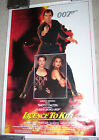 LICENCE TO KILL ONE SHEET POSTER - ROLLED - TIMOTHY DALTON as JAMES BOND - VG