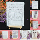 DIY Transparent Clear Silicone Stamp Cling Seal Scrapbooking Card Album Decor 7