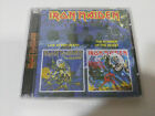 IRON MAIDEN LIFE AFTER DEATH + NUMBER BEAST 2 ALBUMS IN 2 CD RUSSIA EDIT NEW