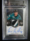 2013-14 The Cup Tomas Hertl Rookie Patch Auto 99 BGS 9 RC SICK SHARKS FIN PATCH