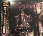 Poison Native Tongue JAPAN w/photo booklet & Sticker PROMO 1ST PRESS Rare