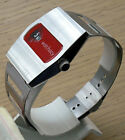 jump hour watch direct time brand new cool red dial rare cool 2017 smart  jump
