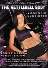 THE KETTLEBELL BODY LAUREN BROOKS DVD 3 WORKOUTS NEW SEALED EXERCISE