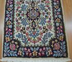 2 x 3 Fine Semi Antique Genuine Persian Kerman Handmade Oriental Wool Area Rug
