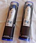 2 New Refrigerator Ice Water Filter Every Drop #6 Whirlpool Replace Cartridge