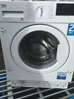 BEKO WIX845400 8 kg 1400 Spin Integrated Washing Machine 60CM.