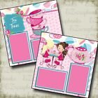 TEA TIME 2 Premade Scrapbook Pages EZ Layout 2749