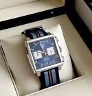 Pre owned TAG Heuer Monaco Calibre 12 Mens Watch NATO excellent cond serviced