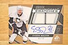 EVGENI MALKIN 2008 09 SP GAME USED AUTOGRAPH SIGNIFICANT SWATCHES 46 50 - $100 !