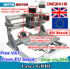 3 Axis Mini DIY 2418 GRBL Control USB CNC Router Engraving Milling Laser Machine