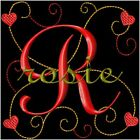 Valentines Curly Heart Machine Embroidery Monogram Fonts Designs Set CD or USB