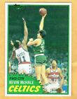 1981-82 Topps Kevin McHale Rookie Card RC #75 NM-MT Sharp Nearly Dead Centered