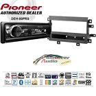 Pioneer DEH S6010BS Single Din Car CD Stereo Radio Install Kit Bluetooth