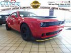 Challenger SRT 2018 Dodge Challenger SRT Demon TorRed Clearcoat 2D Coupe HEMI 8 Speed Automa