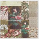 24pc Anna Griffin 5x7 Alexis Floral Cardstock Card Front Paper A7 Pad 6 Designs