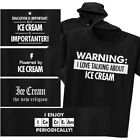 ICE CREAM T-shirt or Hoodie - Warning Powered New Religion Chemistry