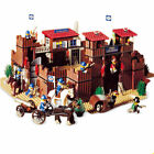 742Ps City Building The Idian Cowboy Castle Building Blocks Bricks Toys Gifts
