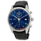 IWC Portugieser Chronograph Automatic Blue Dial Men's Watch IW390303