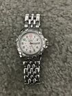 stainless steel swiss military watch 095 0698