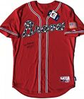 PSA DNA Atlanta Braves #32 MAX FRIED Signed Autographed Baseball Jersey