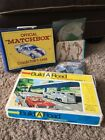 Vintage Matchbox lot Collectors Case Build A Road And Add On Pieces