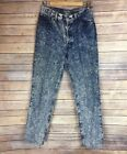 Vintage Levis Denim 501 XX High Waist Acid Wash Mom Jeans Size 11 17501 0112