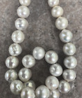 "huge 14-16mm south sea baroque white pearl nnecklace 18""925s"