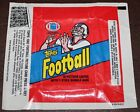 1982 Topps Football Wax Wrapper Set 3 Different Ad variations EX