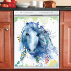 Beautiful Cute Decor Kitchen Dishwasher Magnet Native Horse Head with Feathers