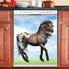 Beautiful Cute Decor Kitchen Dishwasher Magnet Gorgeous Native Spring Horse 2