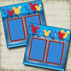 Magical Balloons Disney Premade Scrapbook Pages EZ Layout 2955